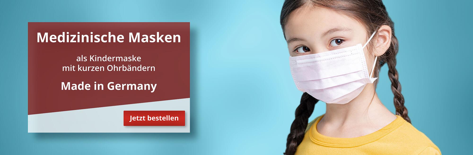 Mundschutz Medizinische Kindermaske aus Deutschland
