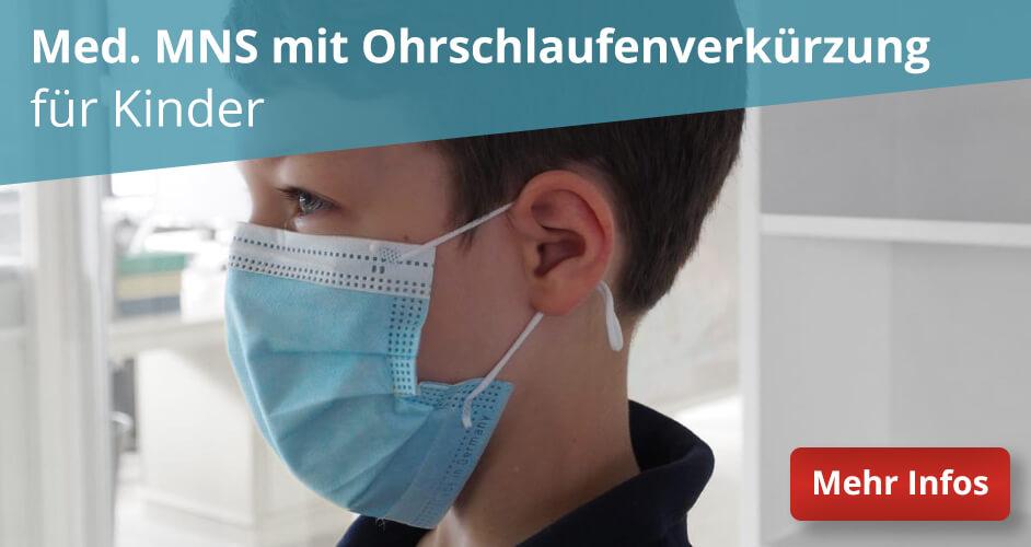 Gesichtsmaske Mund-Nasen-Schutz (MNS) für Kinder